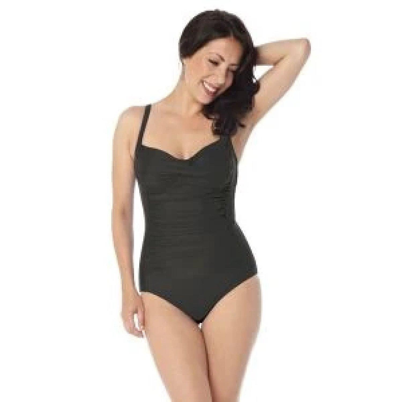 SlimSwim Swimwear BLACK 14 Free Postage