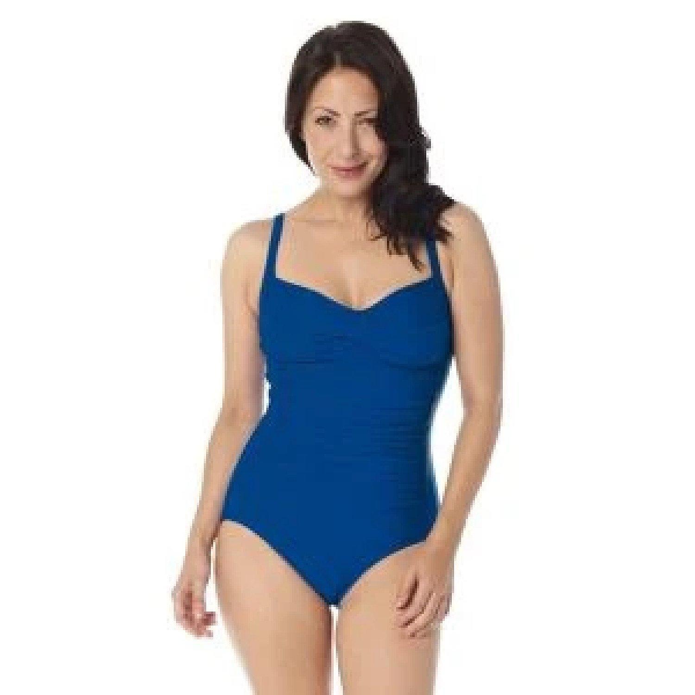 SlimSwim Swimwear BLUE 12 Free Postage