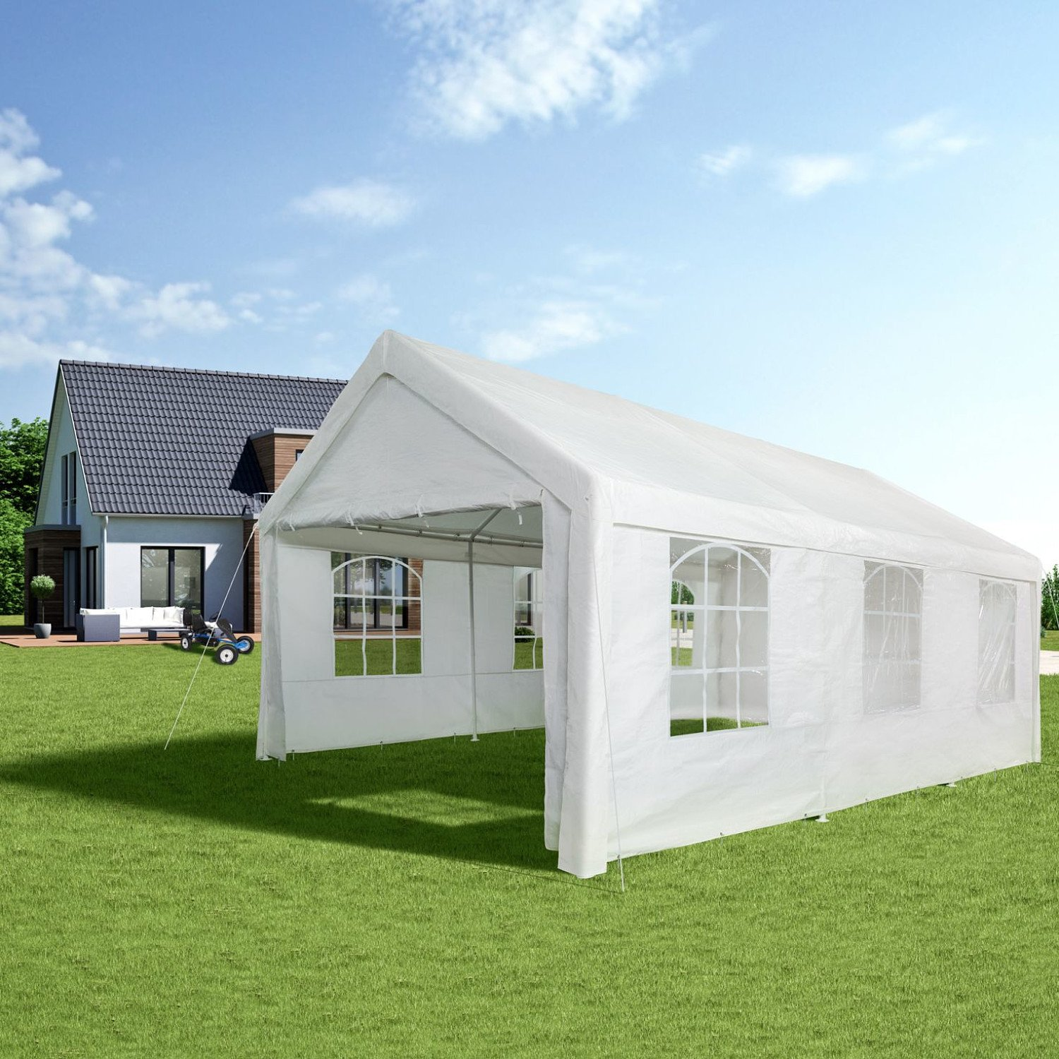 Limited stock! Deluxe White Marquee £300 + free delivery