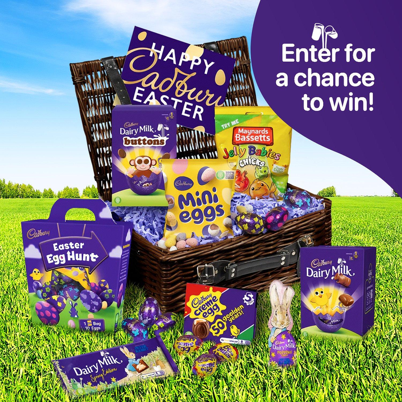 WIN a Cadbury Easter Sharing Basket