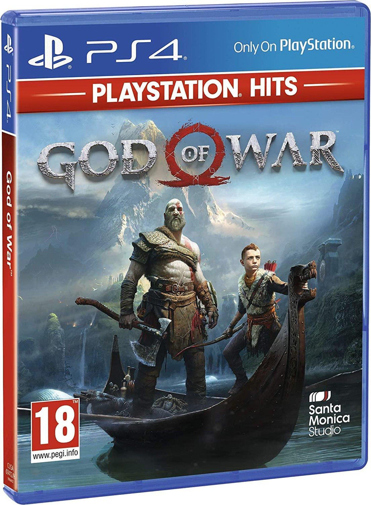 God Of War Playstation Hits (PS4) (BRAND NEW)