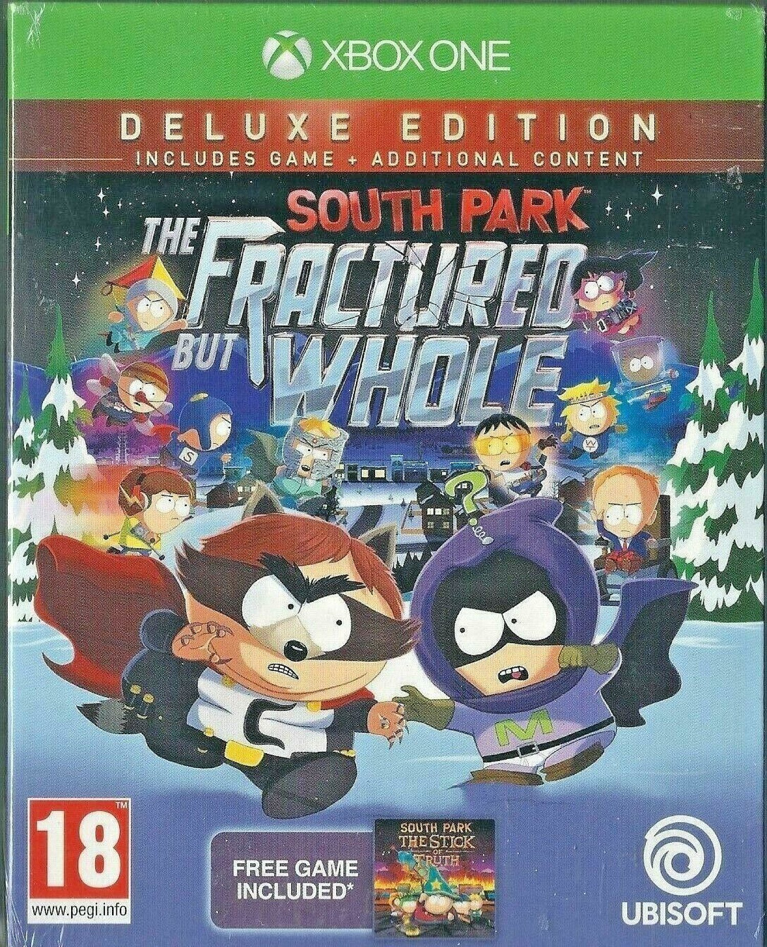 Xbox One South Park the Fractured but Whole Deluxe Edition (BRAND NEW)