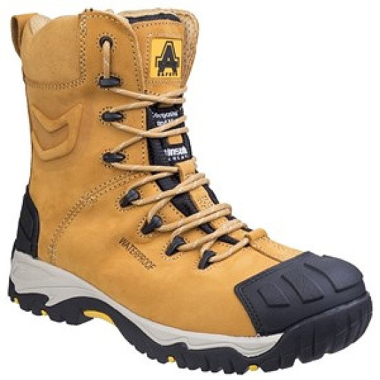 Amblers FS998 Waterproof Lace up Safety Boot