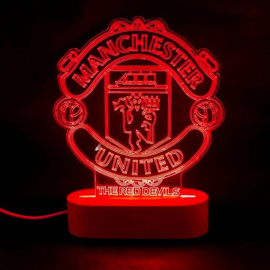 Win an LED Manchester United Light Plaque by subscribing to Pinkmonkeydesigns.com