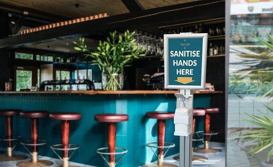 Hand Sanitiser Dispenser - £190.00!