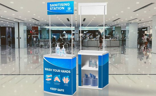 Health & Safety Hand Sanitising Stations - £130.36!