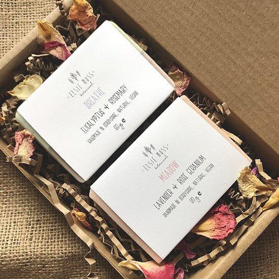 New In! Botanical Soap Bar Gift Sets