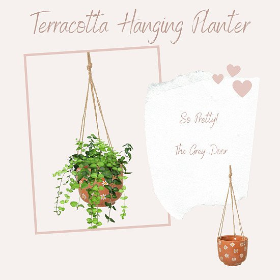 Mother's Day - Terracotta Hanging Planter