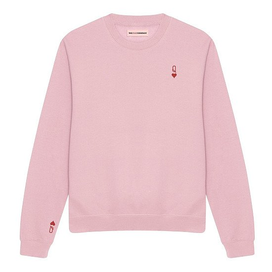 New In - Queen Tiny Embroidery Detail Sweatshirt – Now Just £45
