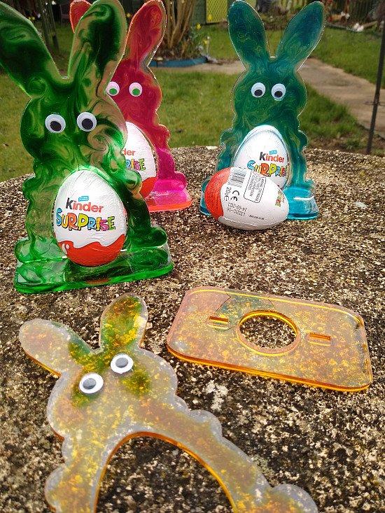 Easter surprise egg holders
