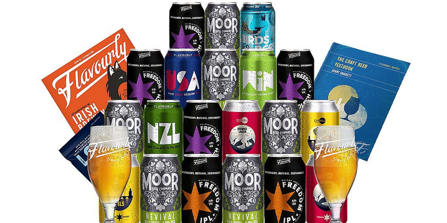 20 Craft Beers with 2 free glasses for only £29.95 incl delivery (No Subscription)