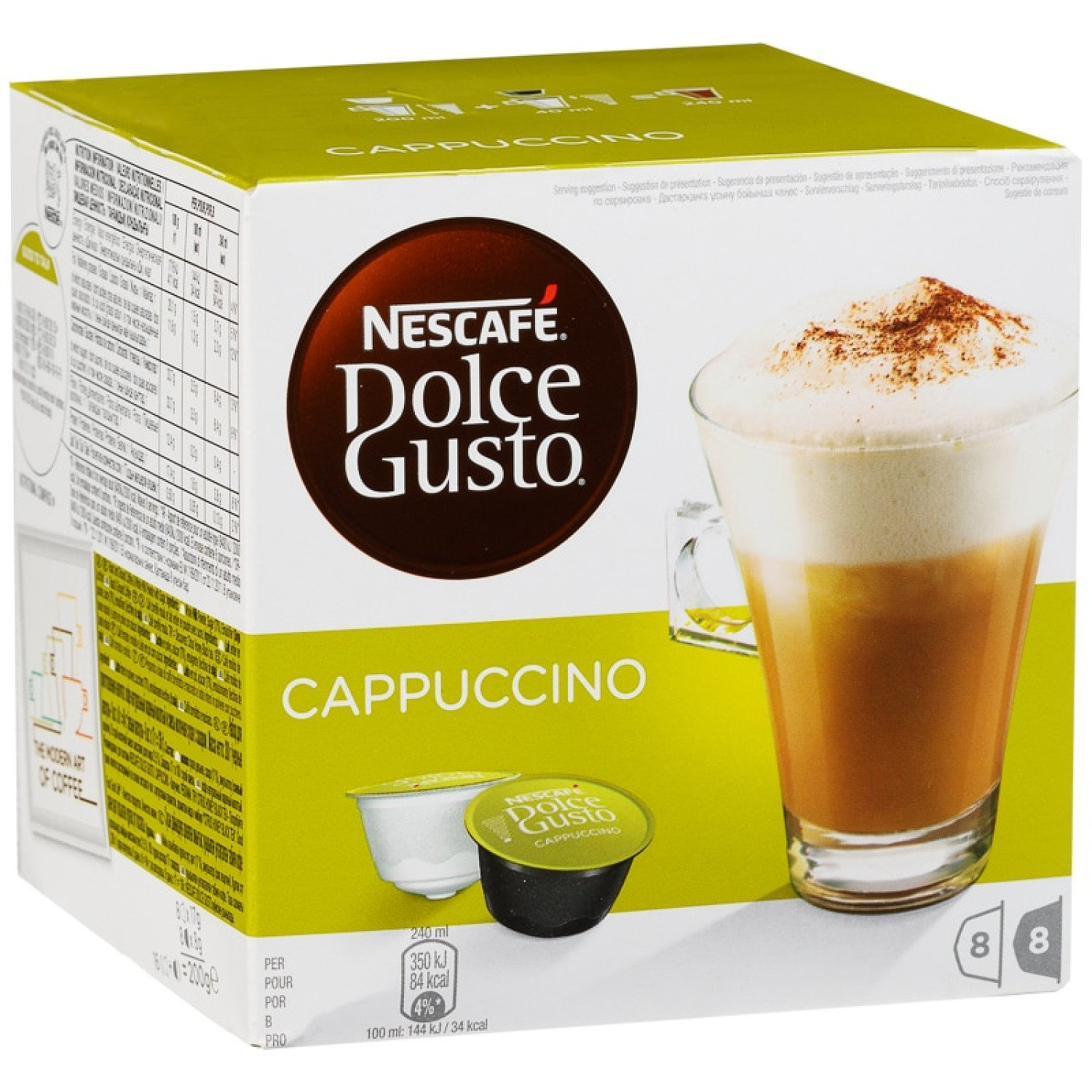 WE'RE OPEN, COME IN STORE - Nescafe Dolce Gusto Cappuccino 8pk £3.59!