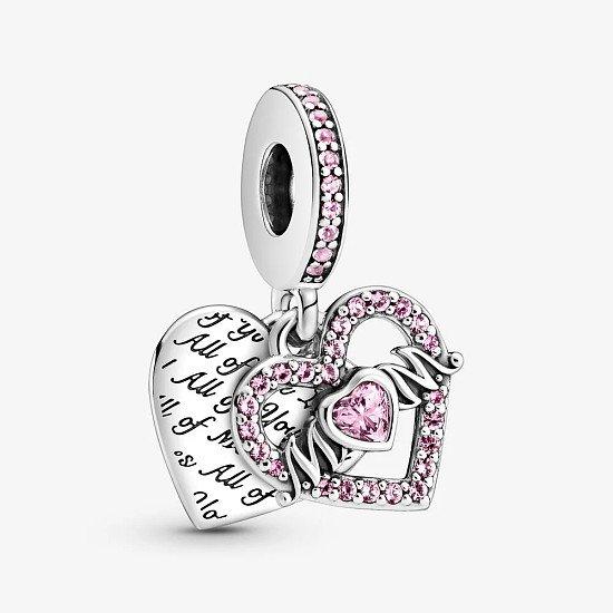 Heart & Mum Dangle Charm - £55.00!
