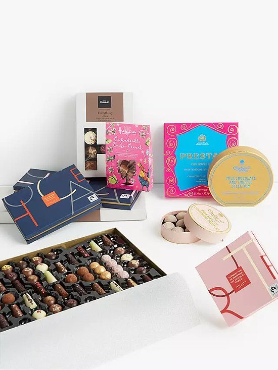 Mother's Day - Hotel Chocolat Sleekster Everything Chocolate Selection Box £22.95!
