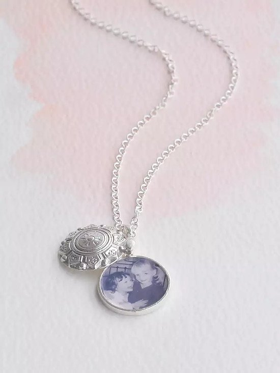 Mother's Day Gift Ideas - Under the Rose Swing Locket with Photo Pendant, £99.00!