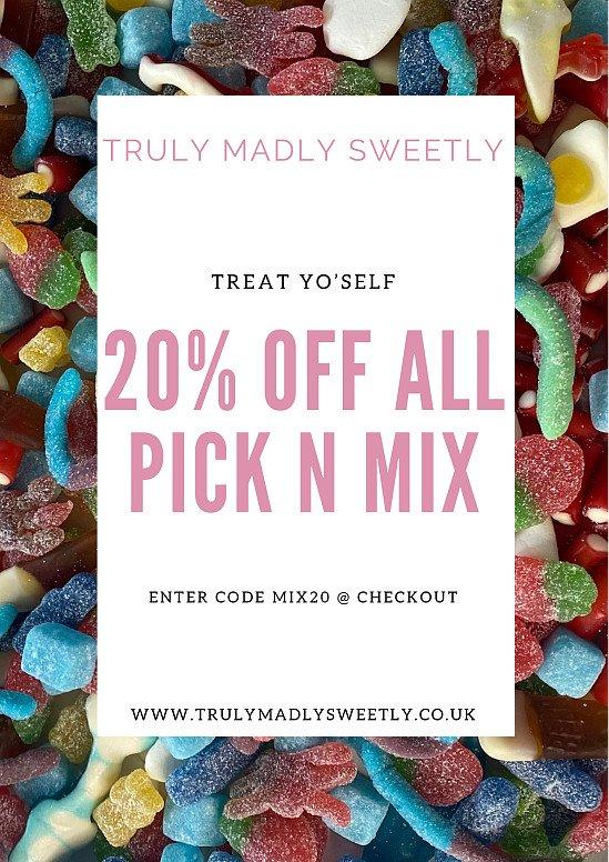 Pick n Mix 20% Off