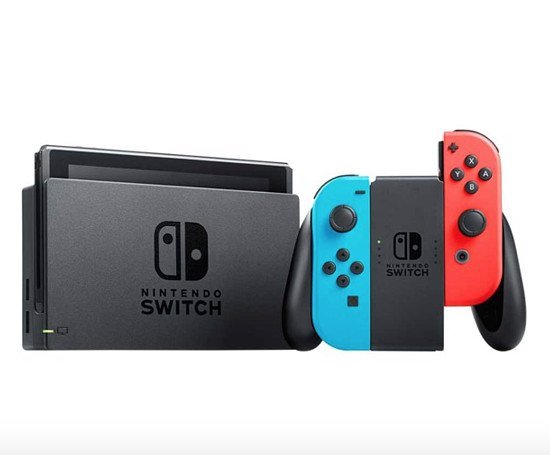 Nintendo Switch Console (2nd Generation, Neon Blue and Red) Brand New