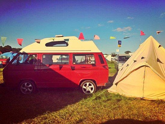 Retro campervan hire in Portsmouth, Hampshire
