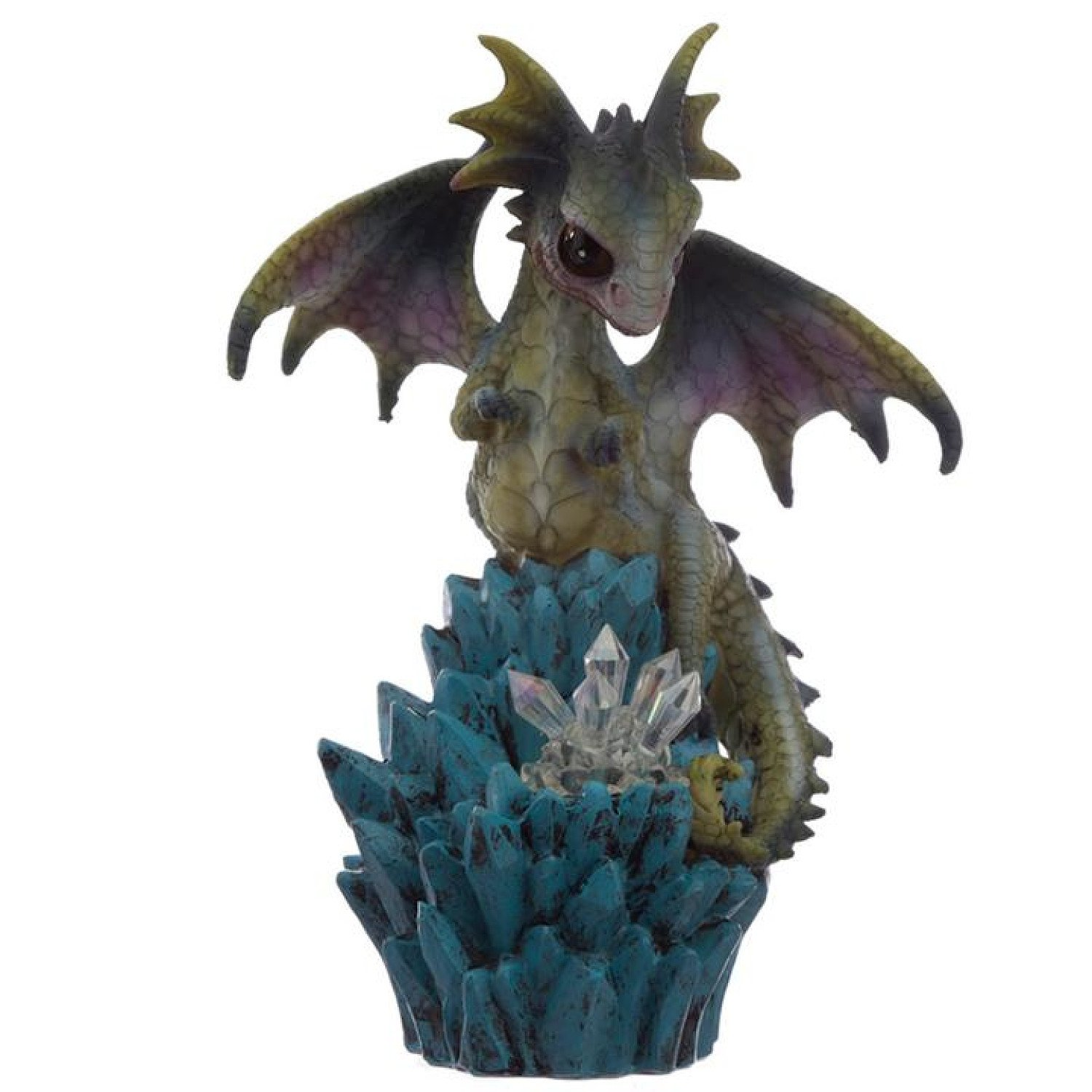 Cute Baby Sweet Dreams Crystal Ice Dragon Figurine Free Postage