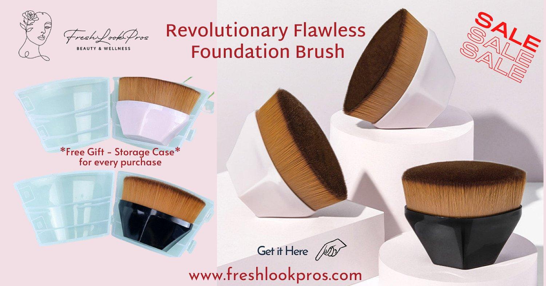 Revolutionary Flawless Foundation Brush