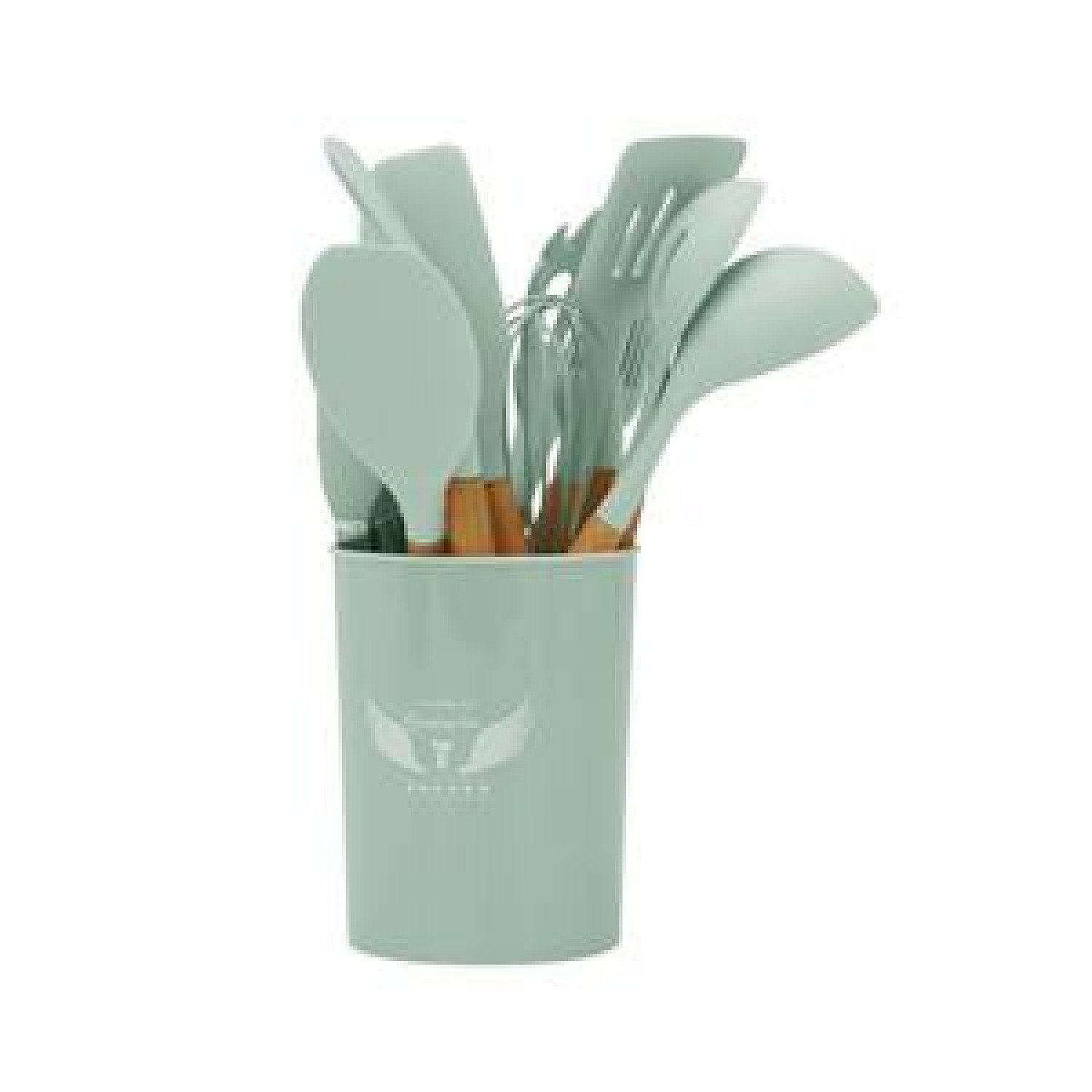 Silicone Kitchen Cooking Utensils Baking Tool - Green Free Postage