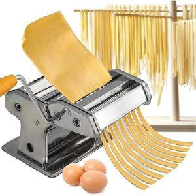 Pasta Maker Kitchen Tool Spaghetti Roller Lasagne Tagliatelle Cutter Machine Free Postage