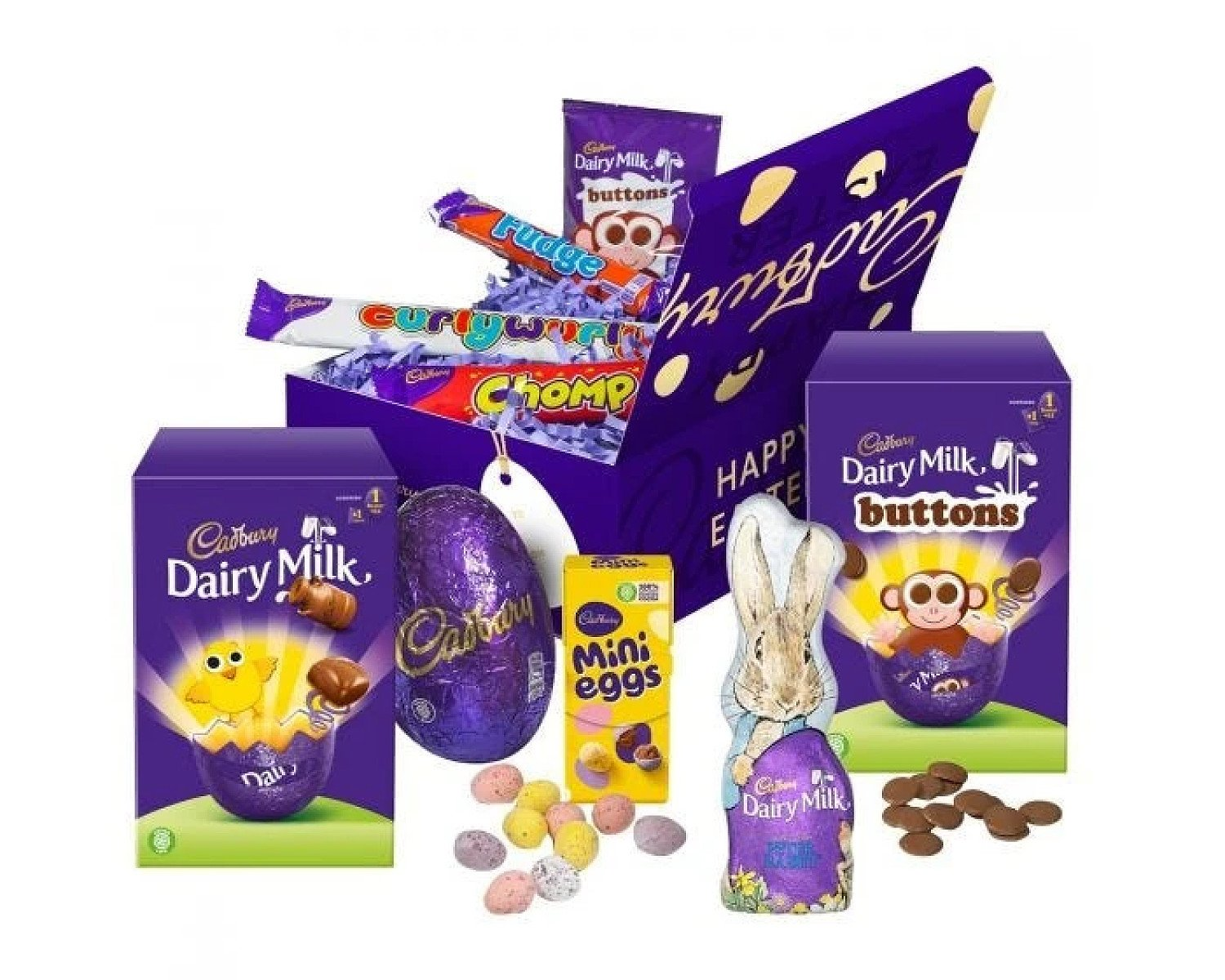 CADBURY EASTER TREASURE BOX Free Postage