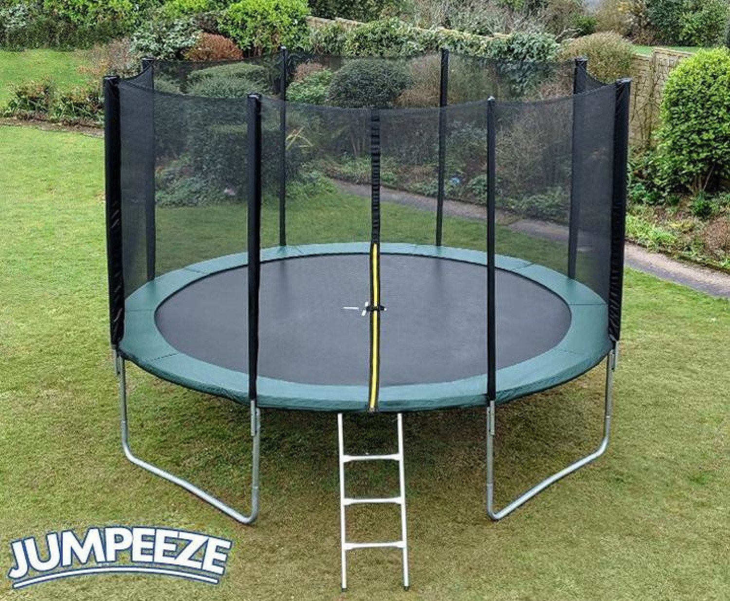 Jumpeeze Green 12ft trampoline package Free Postage