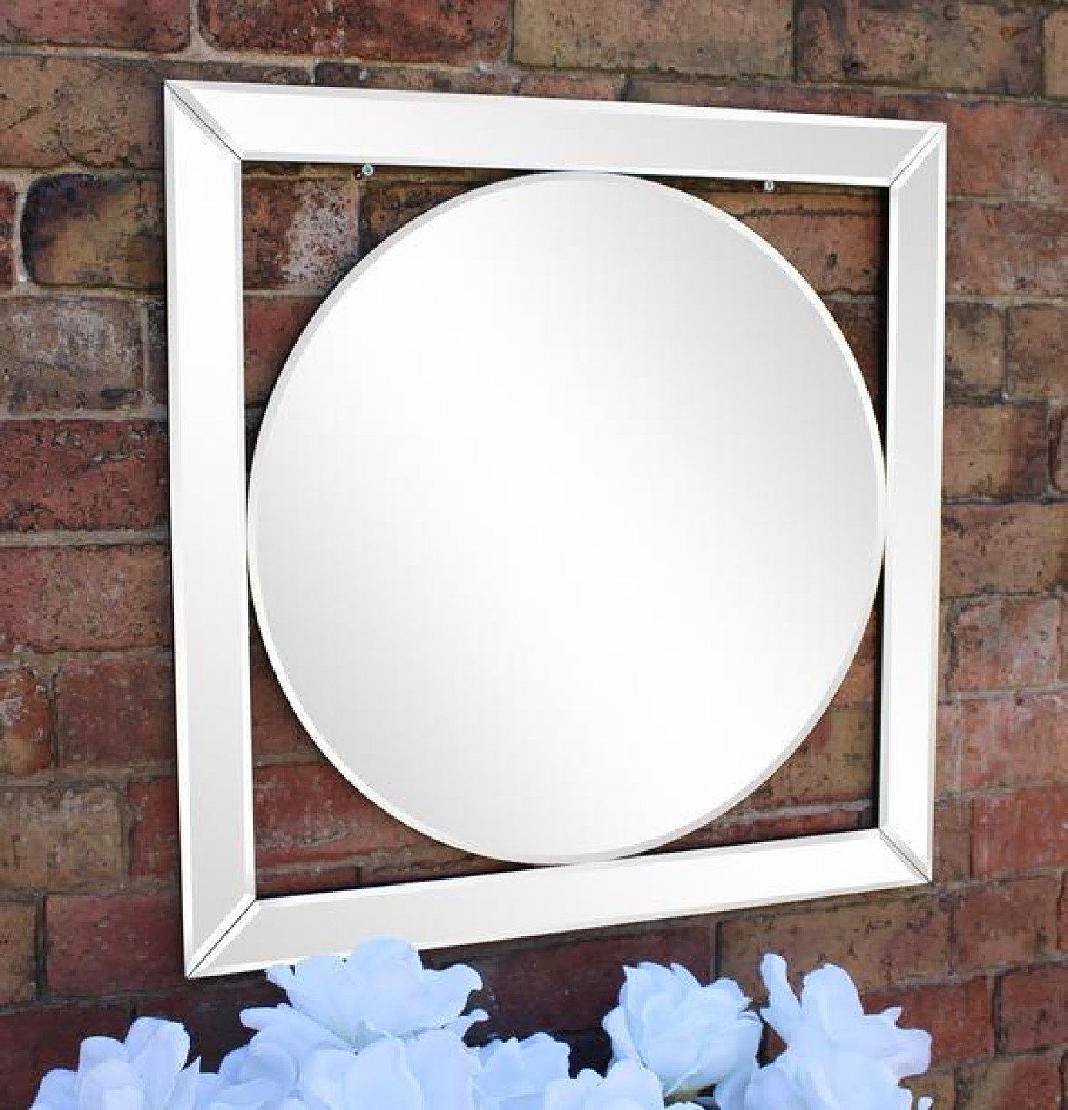 Bevelled Edge Deco Style Mirror 60cm Free Postage