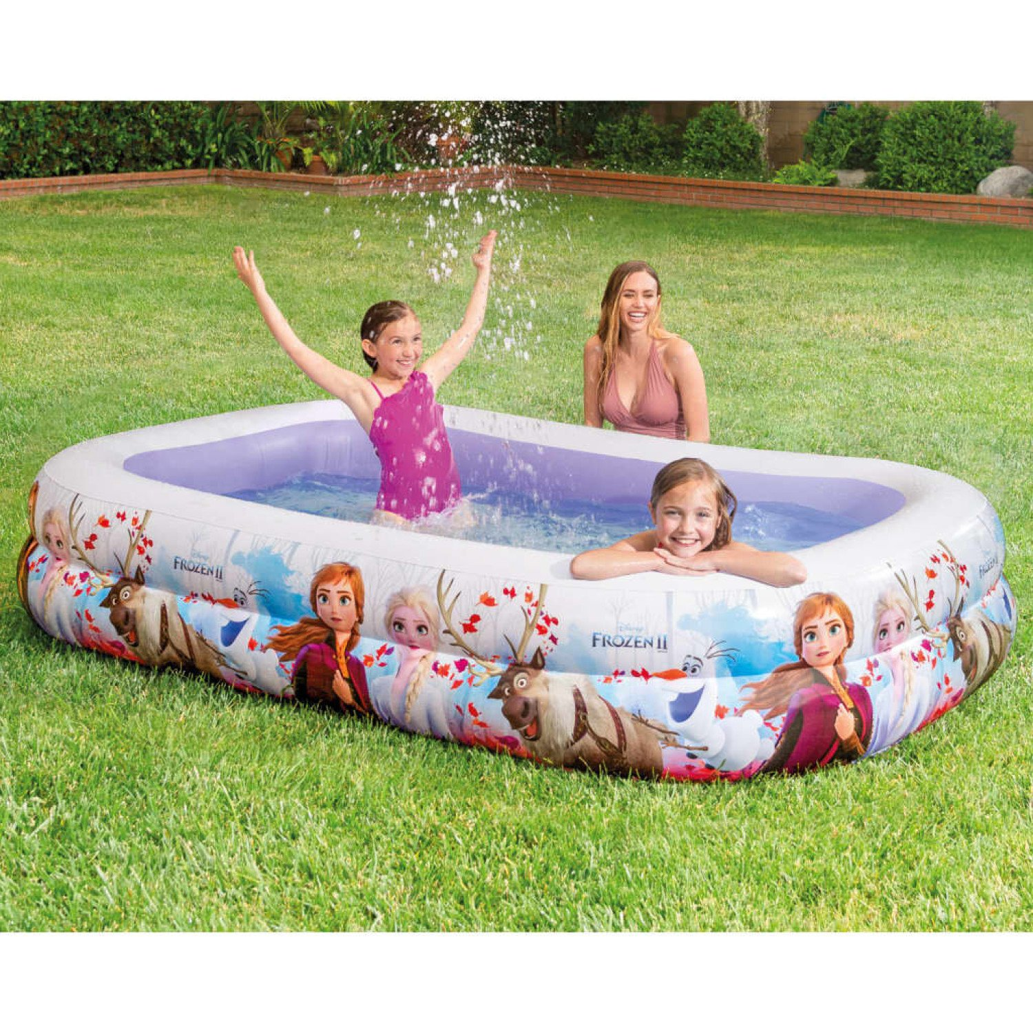 Frozen Swim Center Pool Multicolour 262x175x56 cm