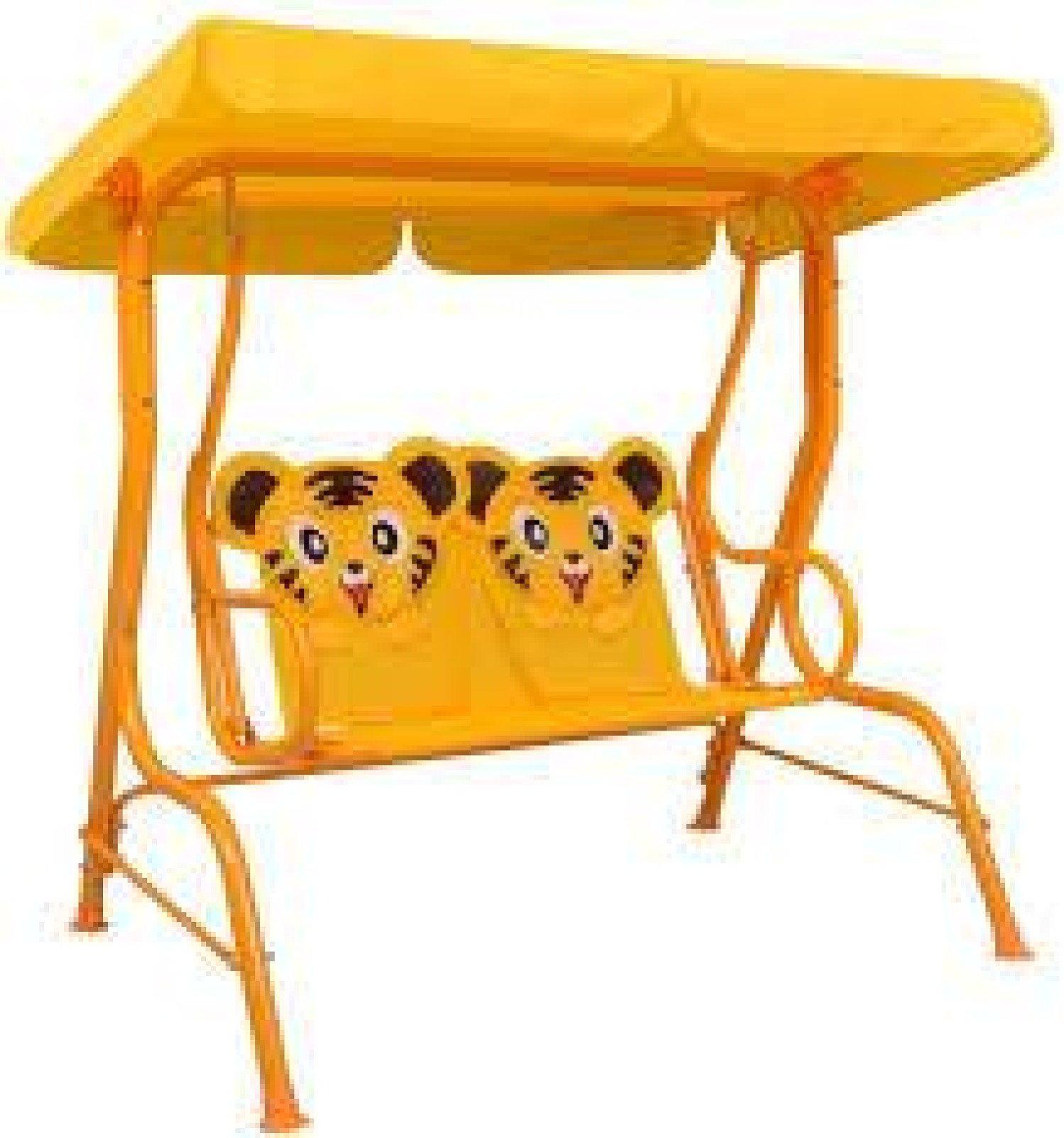 Kids Swing Bench 115x75x110 cm Fabric