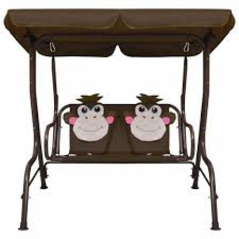 Kids Swing Bench 115x75x110 cm Fabric Free Postage