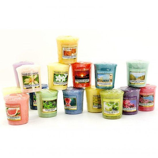 12 ASSORTED SPRING SUMMER CLASSIC VOTIVES