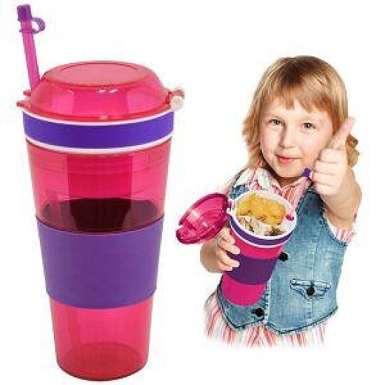(1.3) Kool Kup - Drink and Snack in One Cup