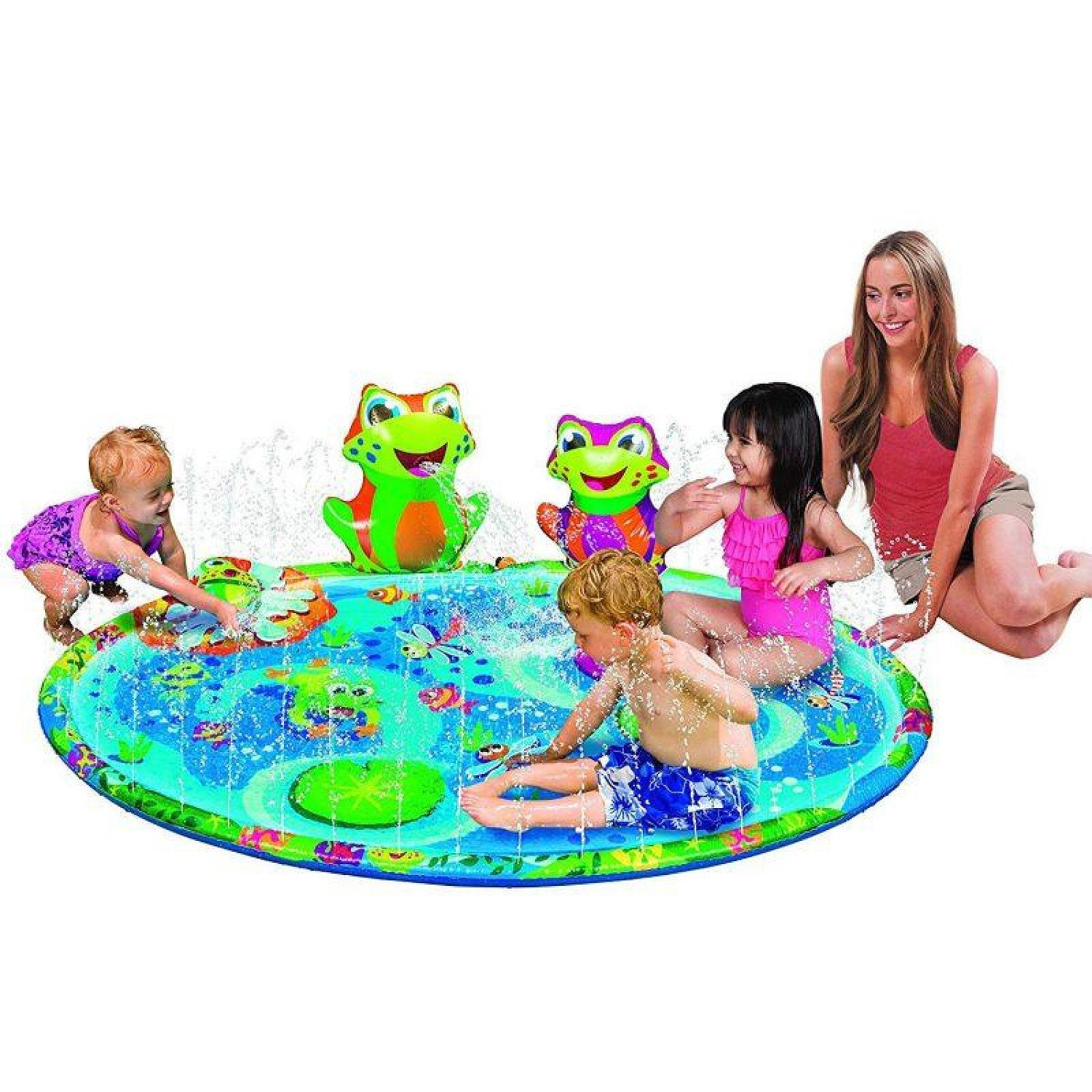 FROGGY POND KIDS SPLASH MAT