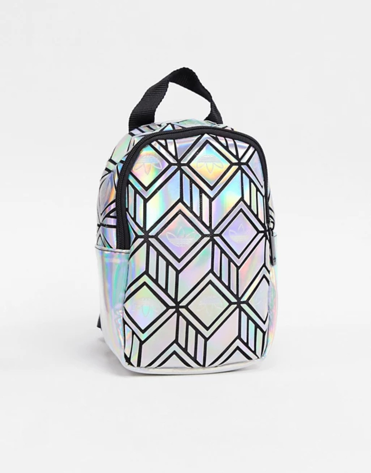 SAVE - adidas Originals 3D geo backpack in silver!