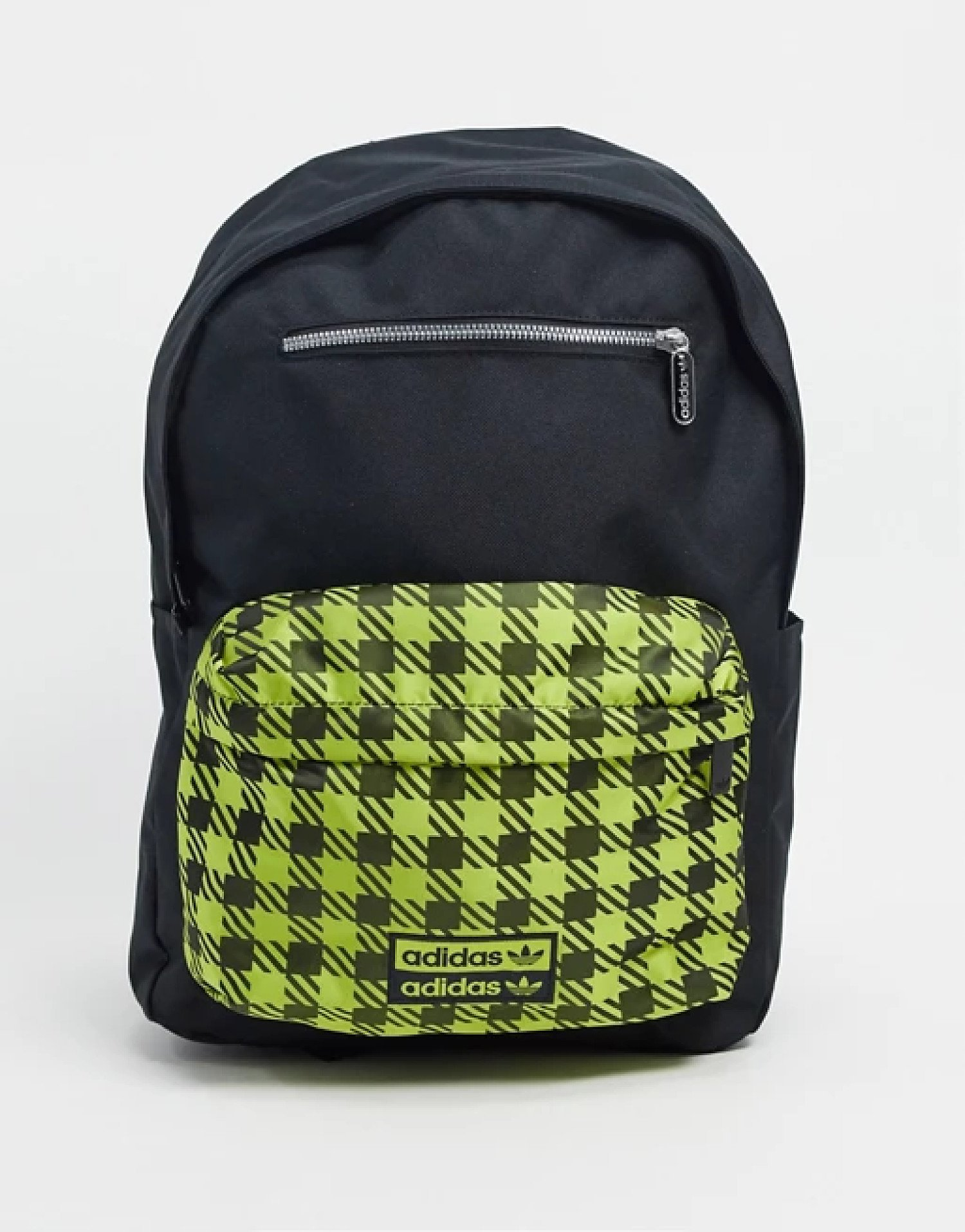 SALE - adidas Originals RYV checked backpack in black and yellow!