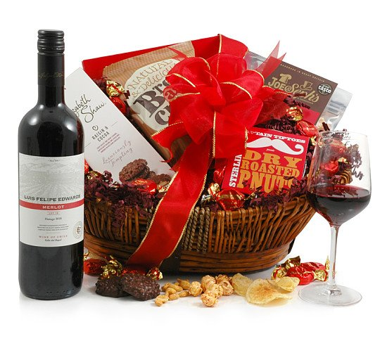 The Ruby Red Wine Hamper - £45.00!