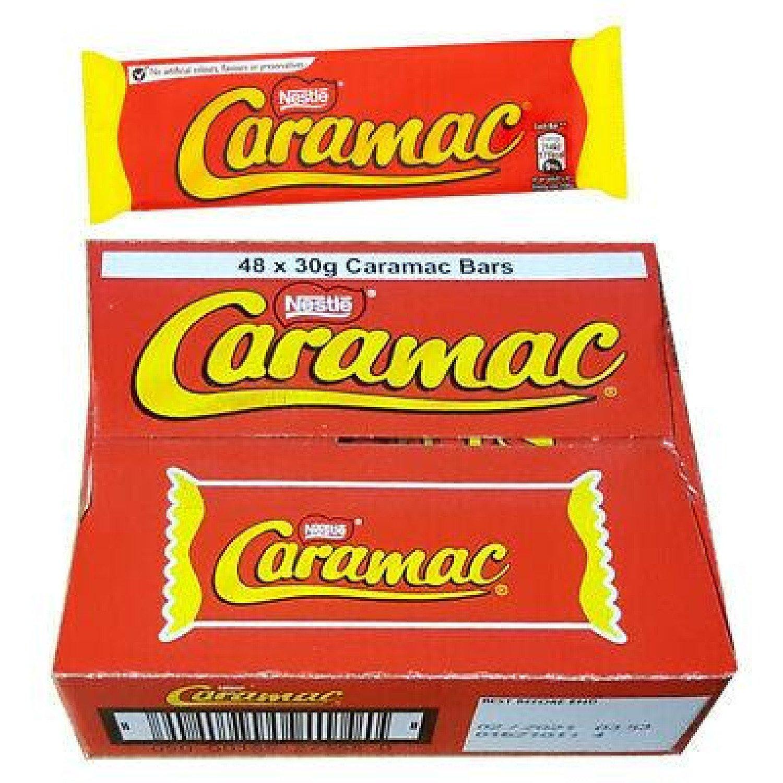 Nestlé Caramac Vanilla Chocolate Bar (Pack of 48)