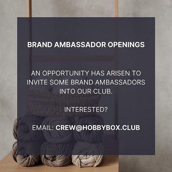Brand Ambassadors Wanted