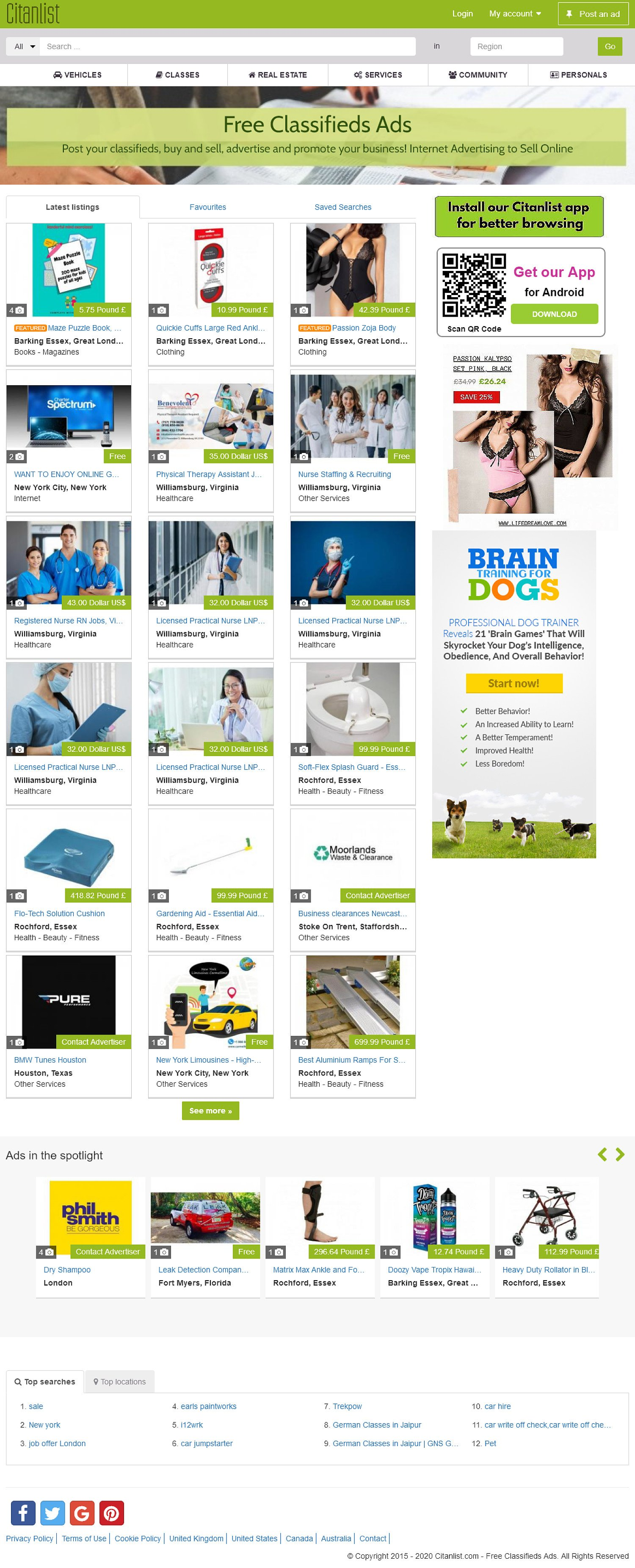 Buy, sell and discover amazing deals now on the Citanlist Marketplace wherever you are.