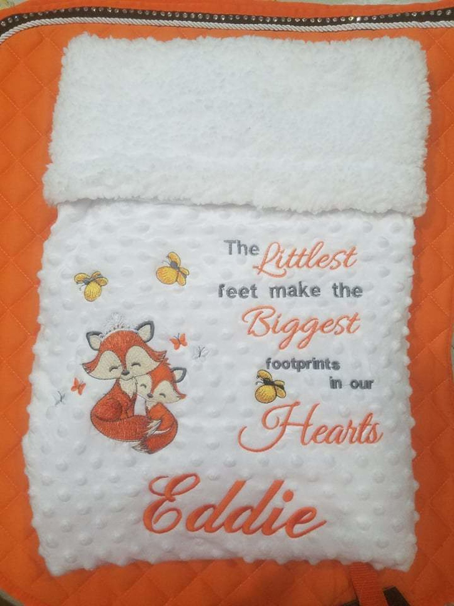 Baby Blanket- Foxes