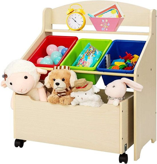 Children Toys Container/ Book Shelf for Playroom
