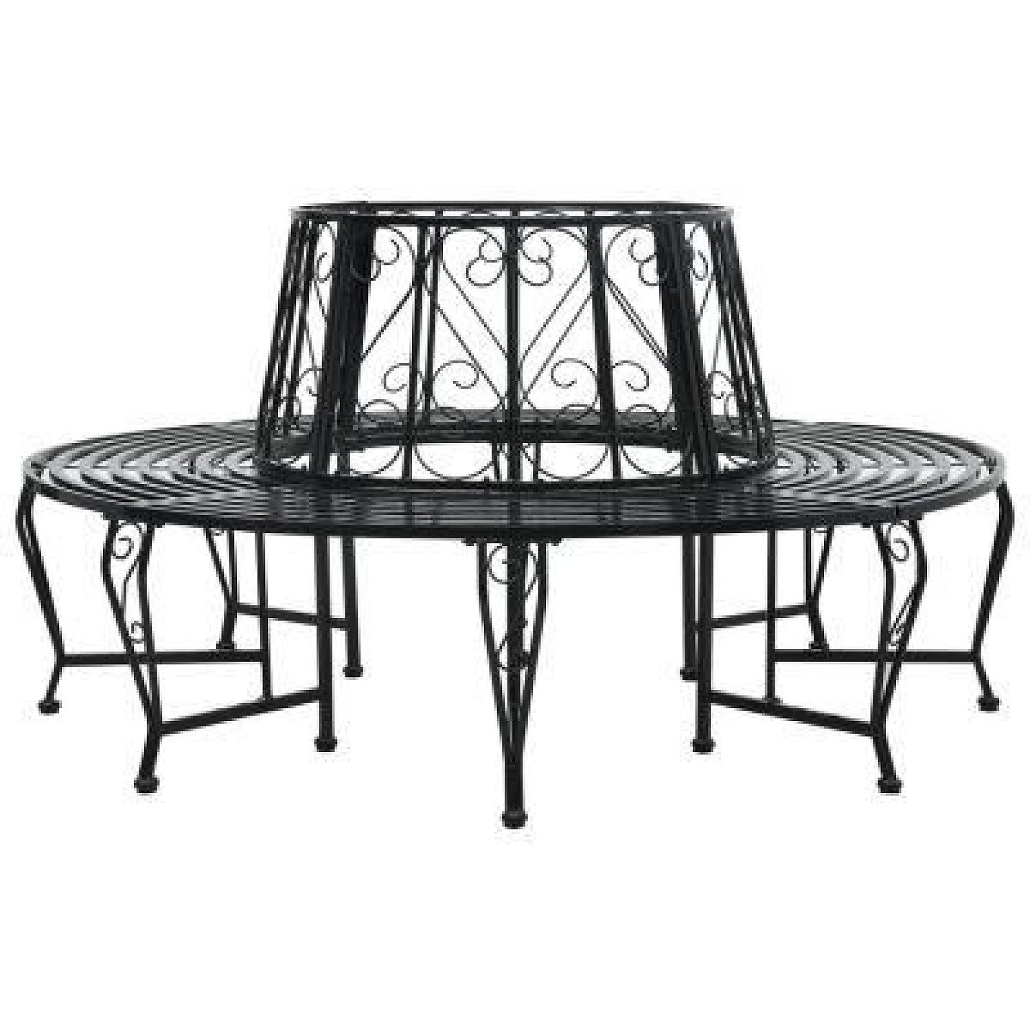 ROUND TREE BENCH STEEL - free delivery £289