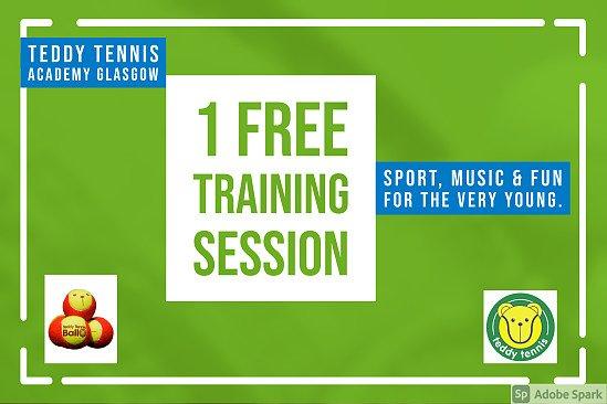 Free Teddy Tennis Session