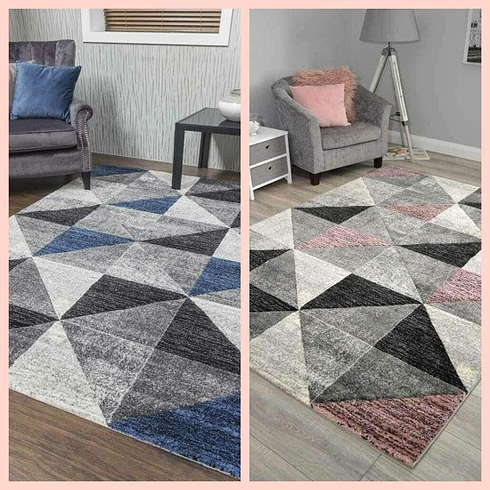 Beautiful geometric style rugs