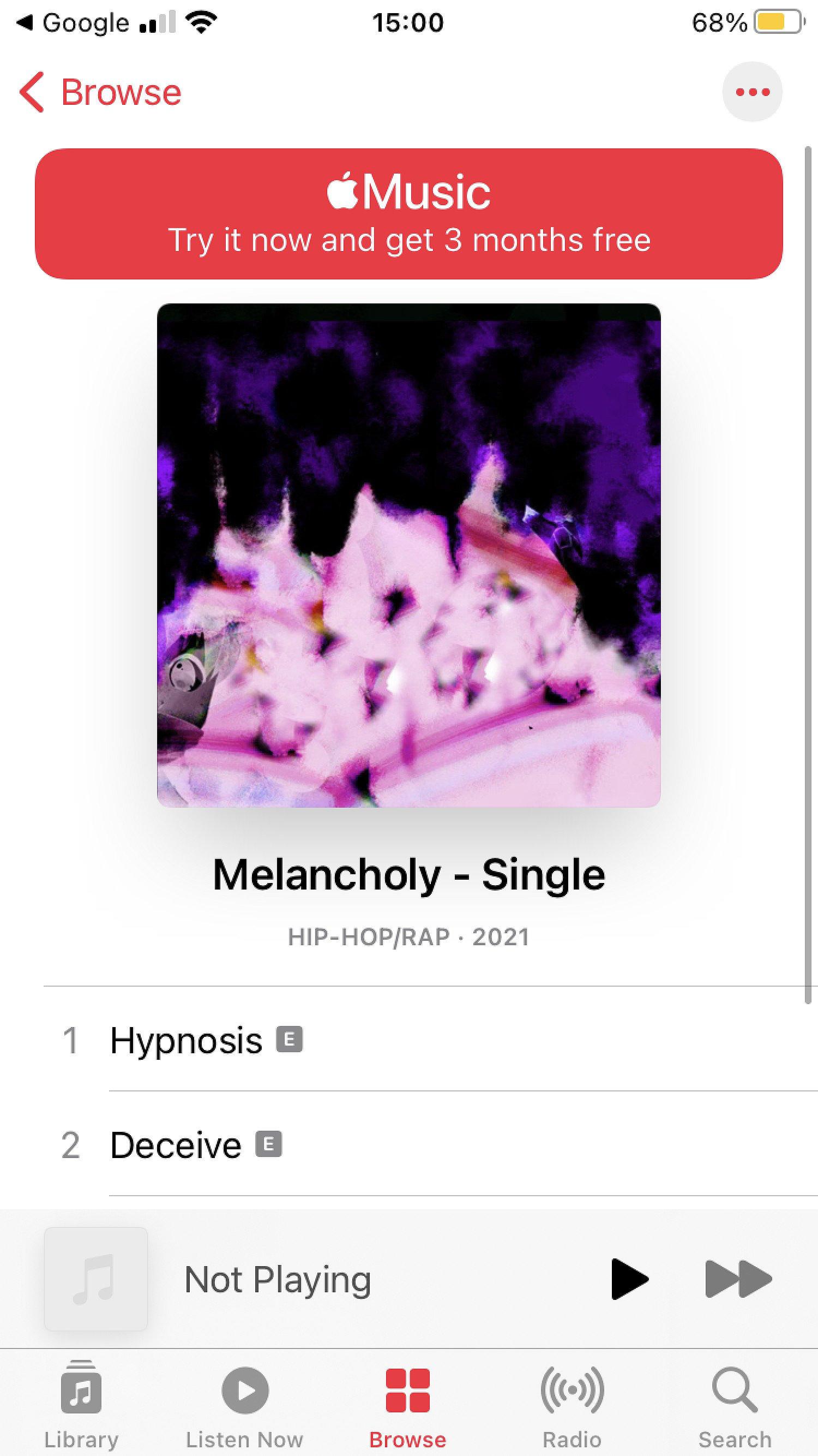 New Artist music!!