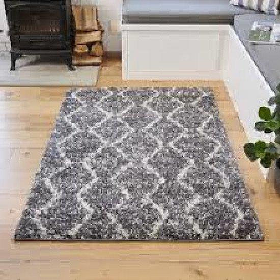 Grey nordic rug
