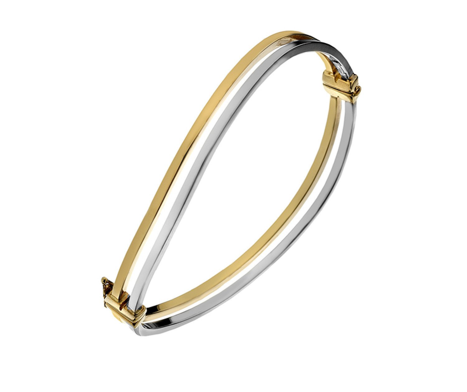 Large range of 9ct Gold Bangles from Callibeau Jewellery