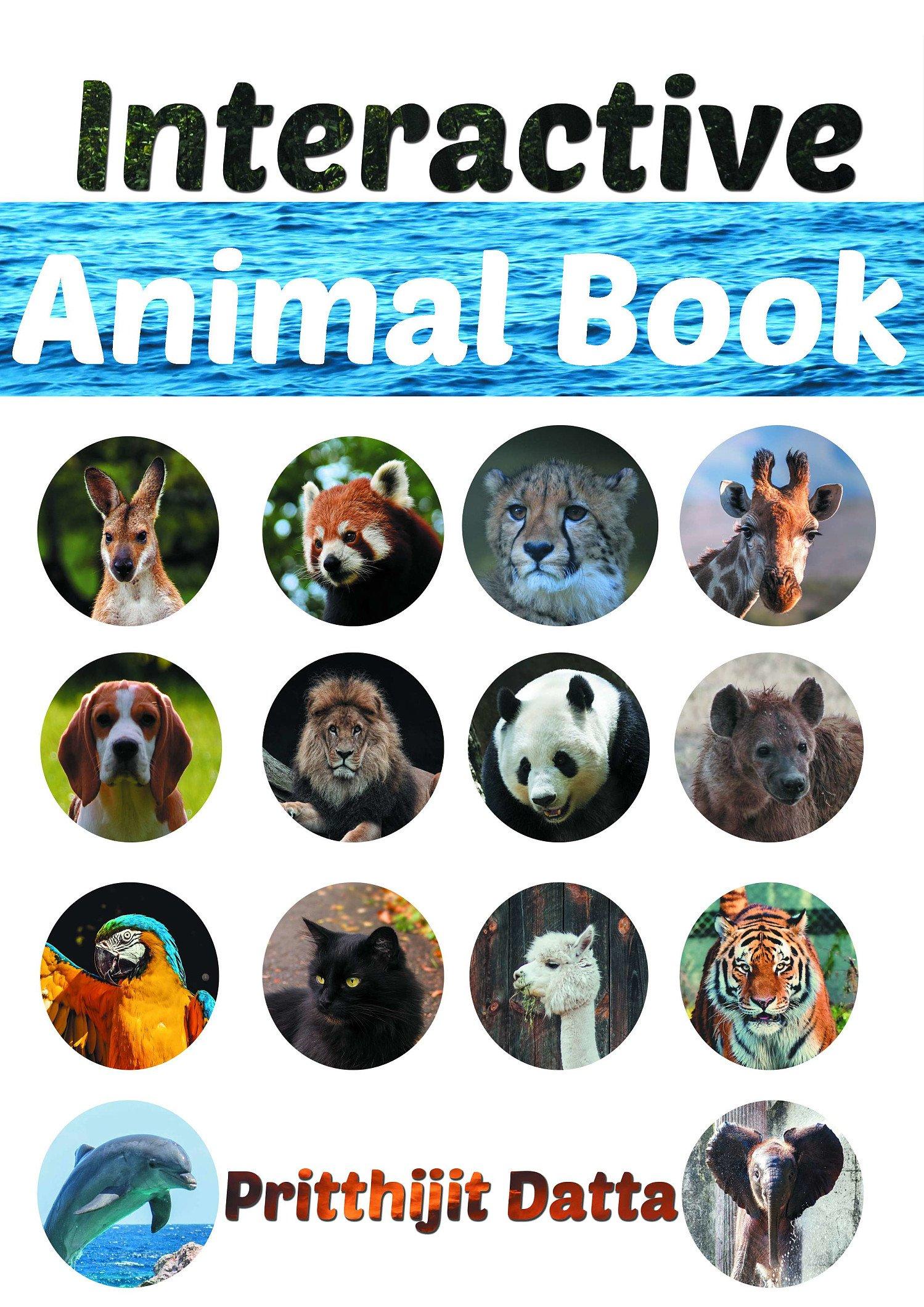 Animal Interactive Game book